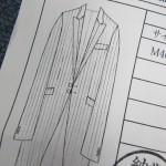 オーダータキシード セレモニースーツの図解