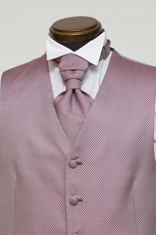 濃いピンクのフォーマルベスト
