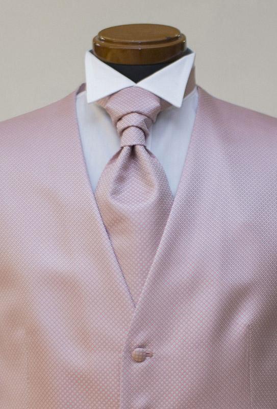 新作ピンクのフォーマルベスト